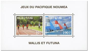 n.o 26 -  Sello Wallis y Futuna Bloque y hojitas