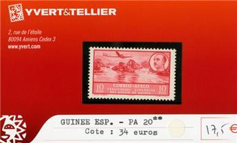 GUINEE ESPAGNOLE PA - n°20**