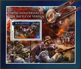 n° 991 - Timbre MALDIVES Blocs et feuillets