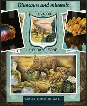 n° 1016 - Timbre SIERRA LEONE Blocs et feuillets