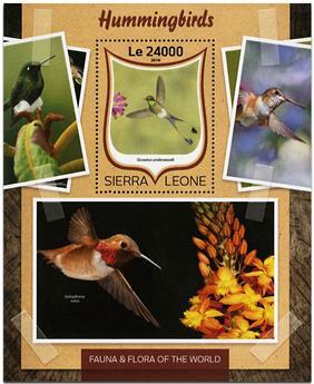 n° 1021 - Timbre SIERRA LEONE Blocs et feuillets