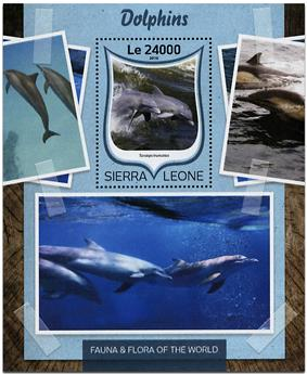 n° 1026 - Timbre SIERRA LEONE Blocs et feuillets