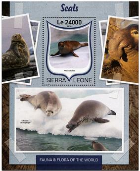n° 1031 - Timbre SIERRA LEONE Blocs et feuillets