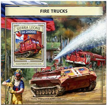 n° 1083 - Timbre SIERRA LEONE Blocs et feuillets