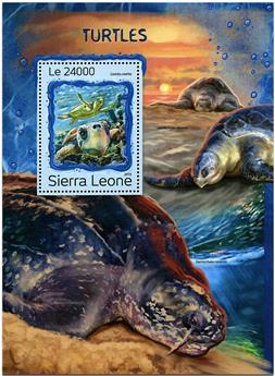 n° 1103 - Timbre SIERRA LEONE Blocs et feuillets