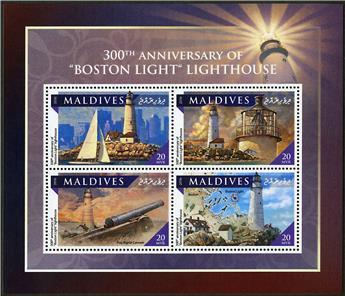 n° 5528 - Timbre MALDIVES Poste