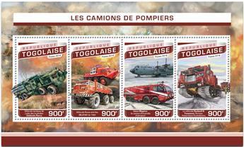 n° 5290 - Timbre TOGO  Poste