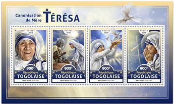 n° 5410 - Timbre TOGO  Poste