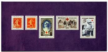nr. 95 -  Stamp France Souvenir sheets