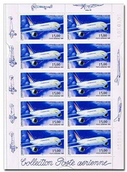 n° F63a -  Selo França Correio aéreo