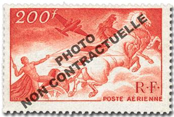 n.o 19b -  Sello Francia Correo aéreo