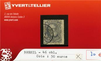 BRESIL - n°46 obl.