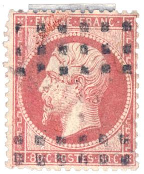 n°24 obl. TB - Timbre France Poste