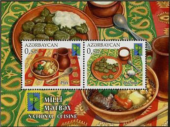 n° 150 - Timbre AZERBAIDJAN Blocs et feuillets