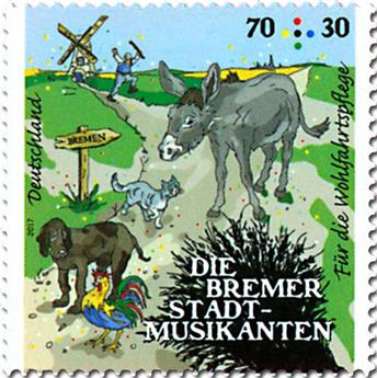 n° 3075 - Timbre ALLEMAGNE FEDERALE Poste