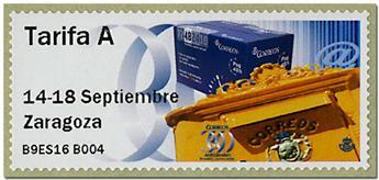 n° 134 - Timbre ESPAGNE Timbres de distributeurs