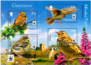 n° F1622 - Timbre GUERNESEY Poste
