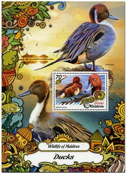 n° 1013 - Timbre MALDIVES Blocs et feuillets