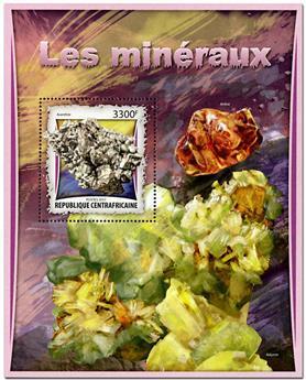 n° 1071 - Timbre CENTRAFRICAINE Blocs et feuillets