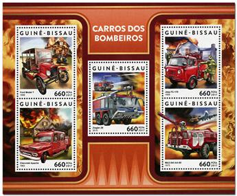 n° 7004 - Timbre GUINEE-BISSAU Poste