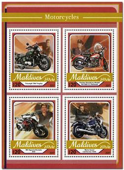 n° 5578 - Timbre MALDIVES Poste