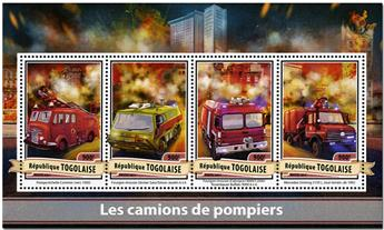 n° 5506 - Timbre TOGO  Poste
