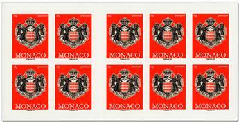 nr. 17 -  Stamp Monaco Booklet Panes