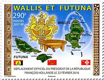 n° 865 - Timbre Wallis et Futuna Poste