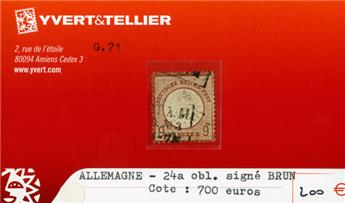 ALLEMAGNE EMPIRE - n°24*a obl.