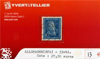 ALLEMAGNE FEDERALE - n°33 obl.