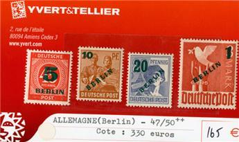 ALLEMAGNE BERLIN - n°47/50**