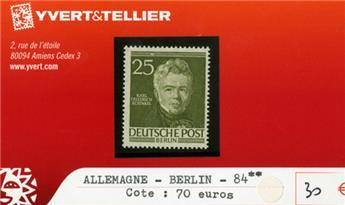 ALLEMAGNE BERLIN - n°84 **