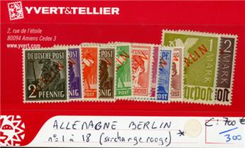ALLEMAGNE BERLIN - n°1/18*