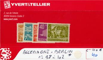 ALLEMAGNE BERLIN - n°98/102*