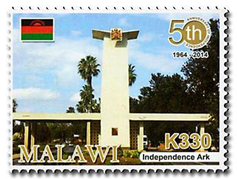 n° 832/836 - Timbre MALAWI Poste