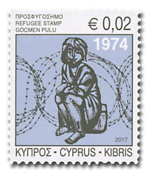 n° 1374 - Timbre CHYPRE Poste