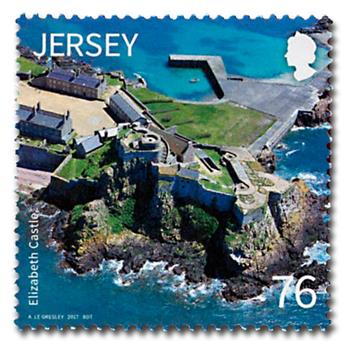 n° 2182/2185 - Timbre JERSEY Poste