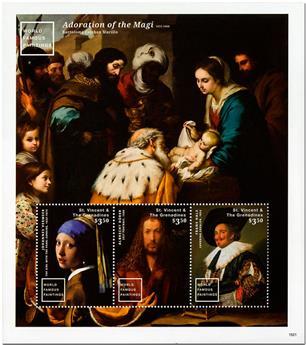 n° 6011/6013 - Timbre SAINT-VINCENT Poste