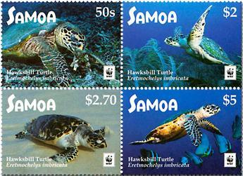 n° 1251/1254 - Timbre SAMOA Poste