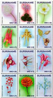 n° 2648/2659 - Timbre SURINAME Poste