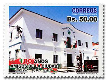 n° 1595 - Timbre BOLIVIE Poste