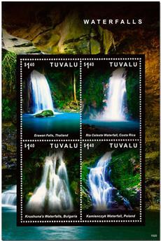 n° 1859/1862 - Timbre TUVALU Poste