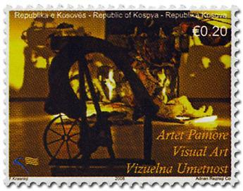 n° 24/27 - Timbre KOSOVO Poste