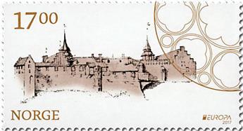 n° 1877/1878 - Timbre NORVEGE Poste (EUROPA)