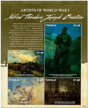 n° 1855/1858 - Timbre TUVALU Poste
