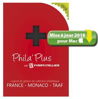 TELECHARGEMENT : Mise à jour PHILA´PLUS Évolutif 2018 FRANCE (MAC)