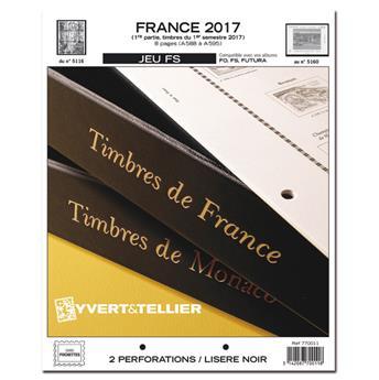 FRANCE FS : 2017 - 1ER SEMESTRE (jeux sans pochettes)