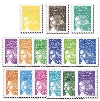 nr. 3443/3457 -  Stamp France Mail
