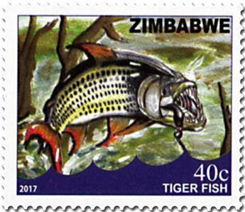 n° 802/805 - Timbre ZIMBABWE Poste