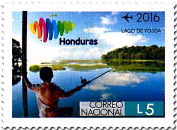 n° 1421/1432 - Timbre HONDURAS Poste aérienne